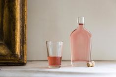 RHUBARB CORDIAL: Tart and sweet—but mostly tart, in a good way.
