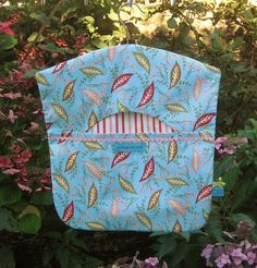 Leaves & Flower Buds Peg Bag Clothes Peg Bag by FromeRiverStudios Clothespin Bag, Peg Bag, Clothes Pegs, Wooden Hangers, Leaf Flowers, Bud, Studios, Laundry, Leaves