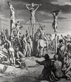 Phillip Medhurst presents John's Gospel: Bowyer Bible print 5618 Jesus is pierced John 19:31-34 Scheits on Flickr. A print from the Bowyer Bible, an extra-illustrated edition of Macklin's Bible in...