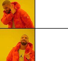 ✅Best Drake Meme Template Free - You Calendars Drake Meme, Spongebob Face, Memes Spongebob, Spongebob Patrick, Halloween Meme, Women Halloween, Best Memes, Dankest Memes, Funny Memes