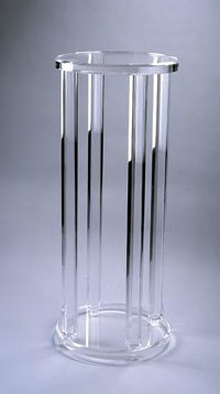acrylic and clear displays show stands shelving displayfixture furniture square pedestal pedestals