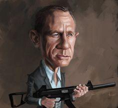 Daniel Craig 007 by DevonneAmos.deviantart.com