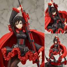 """Ruby Rose Is Armed and Dangerous in New """"RWBY"""" Figure"""