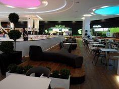 Braila Mall shopping mall Romania  #shoppingmall #bdscontrcat #foodcourt #horecadesign