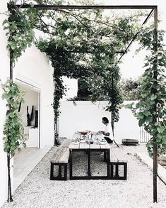 ENTERTAINING Found this image on @pinterest and it just makes me want to entertain! Wouldn't you agree?? . . The holidays are fast approaching and it's time to start thinking about inviting people over re-connecting and endless days in the sun followed by yummy summer feasts!! . . Doesn't that make it the perfect time for a dining table/chair refresh?? Pop in store or onto our website for some great ideas that are in stock now and can be in your home before the holidays!