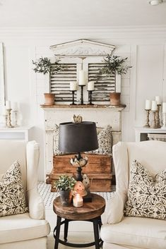 My favorite room in the house! Decor inspiration/ideas for the kitchen with my favourite design styles: French / Vintage / Industrial / Beachy / Shabby Chic Vintage Home Decor, Diy Home Decor, Country Style Homes, Modern Country, French Country Decorating, French Decor, Simple House, Simple Living, Home Decor Styles