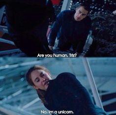 God, Tobias, you can't just ask people if they're human. xD