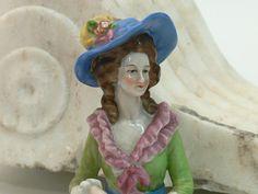 Antike Teepuppe um 1900 !! Half Doll   $150.00
