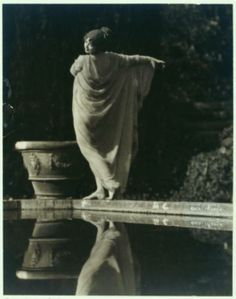 J. Walter Collinge. Ruth St. Denis in Greek Veil costume.1920