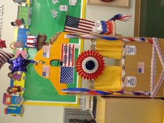 The Pre-Kindergarten students voted in a class election!
