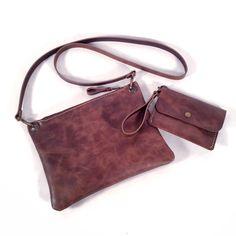 Bag and wallet with the same leather ------ Bolso y cartera con el mismo cuero  www.cocuan.com
