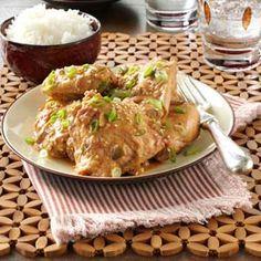 Thai Chicken Thighs