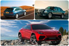 10 luxury SUVs on their way