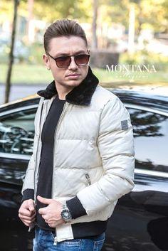 Geaca Barbati White Winter Jackets, Vest, Fashion, Winter Coats, Moda, Winter Vest Outfits, Fashion Styles, Fashion Illustrations