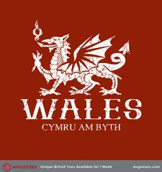 Wales: Cymru Am Byth - A Tribute to Wales - Anglotees Welsh Tattoo, Welsh Names, Cymru, Coal Mining, Red Dragon, Wales, Cool Stuff, Stuff To Buy, Moose Art