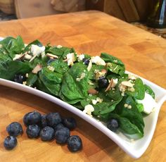 Balancing Cinderella Recipes: Blueberry, Spinach and Quinoa Salad