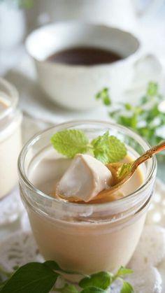 昨日のお料理教室のデザートでお出しした、「紅茶のパンナコッタ」とっても評判が良かったので、レシピを書いておきます。[材料]◎牛乳 …