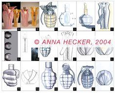 Perfume bottles by Anna Hecker designed in Germany Design Products, Perfume Bottles, Anna, Germany, Big, Collection, Perfume Bottle, Deutsch