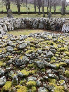 Balnuaran Cairn. Clava Cairns, Inverness, Scotland.
