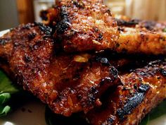 """BK Supperclub Challenge: Balsamic BBQ Seitan and Tempeh Ribs 