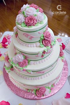 Pink and Lime green wedding cake Wedding Cake Photos, Wedding Cakes, Lime Green Weddings, Cupcakes, Cookies, Desserts, Pink, Food, Wedding Gown Cakes