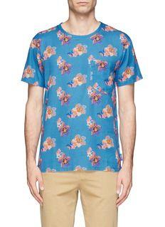 MARC JACOBSHawaiian floral print T-shirt