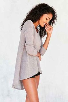 Kimchi Blue Blaire High/low tunic sweater $49