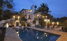 spanish home Los Feliz Real Estate-Los Feliz Homes-Los Feliz Real Estate Sales Wallpaper