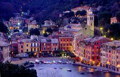 Portofino Italy Night