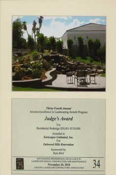 Judge's Award for Residential Redesign, 2010