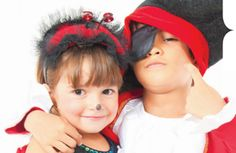 Thrifty Halloween costume ideas for kids. #DIY #costume