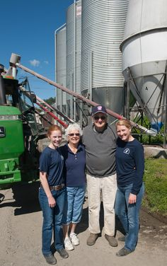 In the farming community there are many examples of cooperation between friends, family and neighbors. Within our cooperative, Fairmont Farm is a great example. The farm was founded in 1992 as a collaboration of three dairy farms run by three branches of the Hall Family and their neighbor, Austin Cleaves. The partnership allowed the group to invest in outstanding facilities and prepare for the future of the farm.