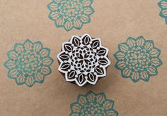 Blockwallah stamps are hand carved by skilled artisans in rural India. The carving is done on Shesham wood which is also known as Indian Rosewood. Blockwallah stamps come in a range of contemporary and traditional designs, as well as seasonal designs which can be used for printing on