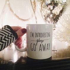Introvert mug – Manor   Simply Smashing Home Decor