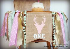 Hey, I found this really awesome Etsy listing at https://www.etsy.com/listing/257344442/pink-gold-mint-deer-head-high-chair