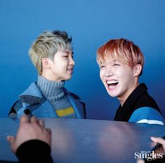 Rap Monster, J-Hope (BTS) - Singles Magazine January Issue '16