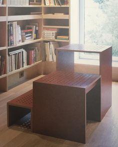 Martin Szekelyu0027s N.g. Step And Bookshelves For @galeriekreo 2002  #martinszekely #galeriekreo