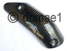 carbon fiber heat shield exhaust cover protector Ducati 749 999 | eBay