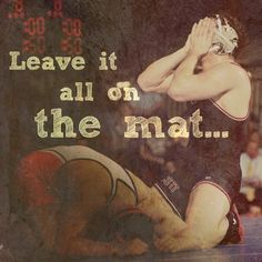 On the mat!!!