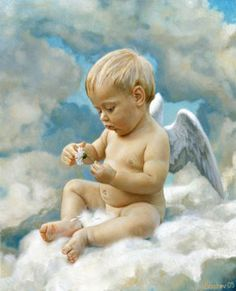 baby angel by Slava Groshev