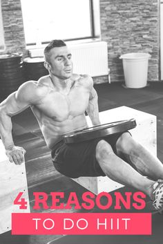 4 Reasons To DO HIIT workouts Gut Inflammation, Muscular Legs, Ice Baths, Endurance Training, Crossfit Games, Stem Cells, Triathlon, Hiit, Fitness Diet