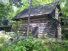 Crill's Log Cabin, Stokes State Forest, Krill Log Cabin by BelZura, via Flickr