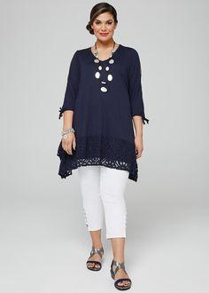 bdf39d903e53 REVELATION TANK | plus size clothes | Fashion outfits, Plus size ...