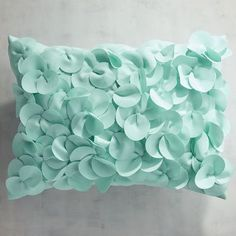 Finely woven and soft to the touch, our Cabana fabric is tough enough for outdoors but pretty enough for indoors. This petals-allover pillow will add a delicate, feminine touch to your patio or family room. Toss Pillows, Couch Pillows, Outdoor Throw Pillows, Designer Pillow, Pillow Design, Unique Home Decor, Home Decor Items, Bachelorette Pad, Lumbar Pillow