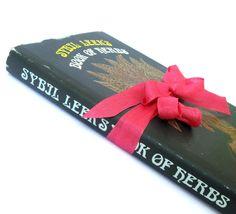 Sybil Leek's Book of Herbs , Herbal, Medicinal, Holistic Healing, Holistic Health, Herbalist, First Edition Herb Book, Vintage Herb Book