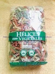 Resultado de imagen de paquetes de pasta mercadona