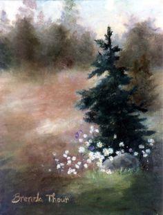 Pine Tree Landscape ORIGINAL 8x10 inc Oil Painting on Etsy, $88.00 https://www.etsy.com/listing/10710693/pine-tree-landscape-original-8x10-inc
