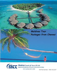 Madras Travels offers cheap tour packages in Maldives. Maldives is a perfect place for holidays. Call us Toll-Free 1800 103 2337 and get exciting deal and offers on your Maldives Tour Package. For more visit http://www.madrastravels.in/location/maldives.html