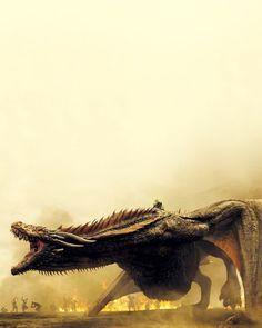 Game Of Thrones Who's ready? #daenerystargaryen #drogon #motherofdragons #emiliaclarke #got #asoiaf #gameofthrones