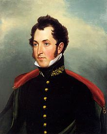 """Samuel B. Ringgold, known as """"Father of Modern Artillery"""" and for who Fort Ringgold was named after, was a U.S. Army Officer who died during the Mexican American war in Port Isabel. Many songs & cities honor his bravery during the Battle of Palo Alto."""